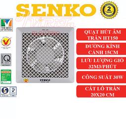 Quạt hút thông gió gắn trần Senko HT150