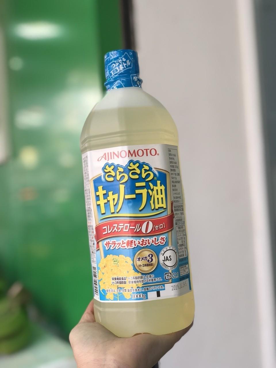 Dầu hạt cải Ajinomoto Nhật Bản