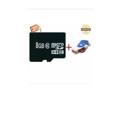 Thẻ nhớ 8GB class 10 tặng 1 đầu đọc thẻ All-in-one 1000000624+1000000513