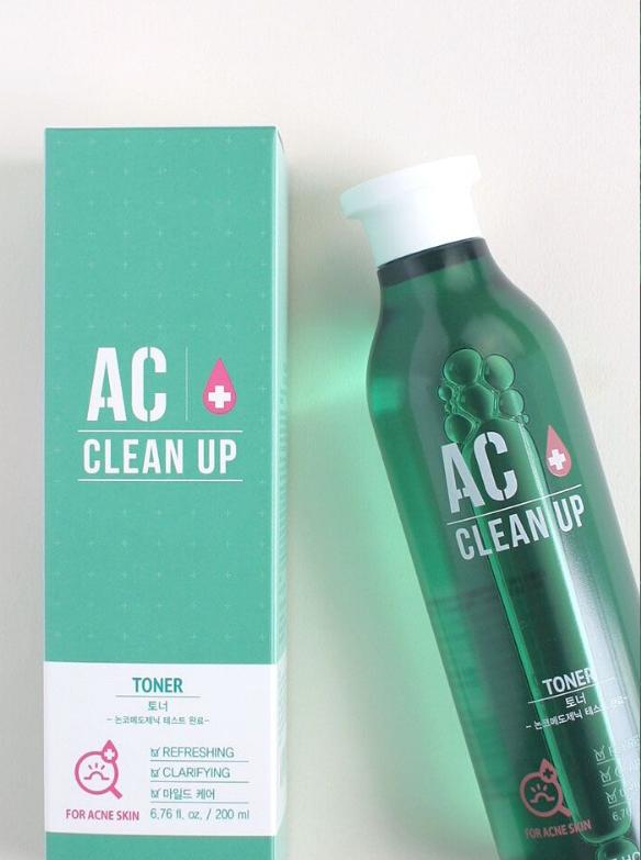 TONER TRỊ MỤN AC CLEAN UP -ETUDE HOUSE