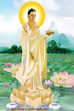 Tranh Dược Sư Lưu Ly Quang Vương Phật HP2106
