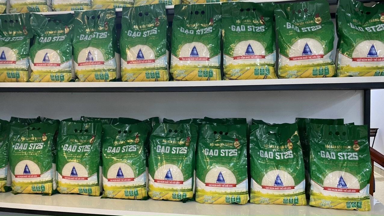 Gạo ST 25 Vinaseed túi 5kg