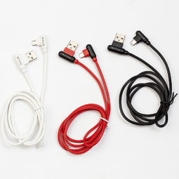 Dây cáp vuông góc AKUS 1M (Micro USB) - FE02
