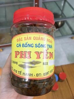 Cá Bống Sông Trà Phi Yến