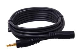 Dây nối dài Loa 3.5mm HEINLER 1 đầu đực 1 đầu cái dài 5m (Đen) 1000000163