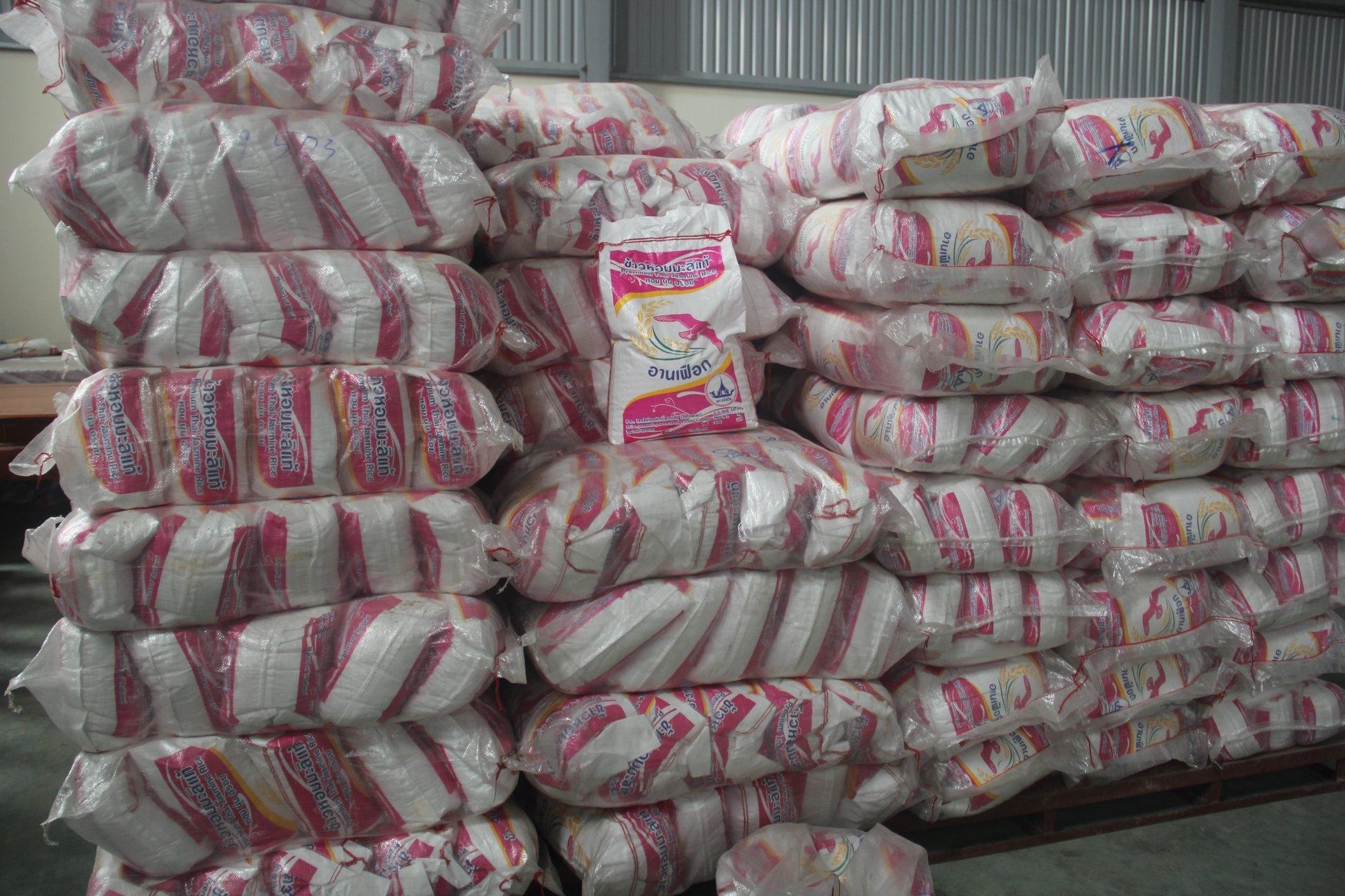 Gạo Tám Thái lan Nhập khẩu nguyên bao bì, túi 10kg