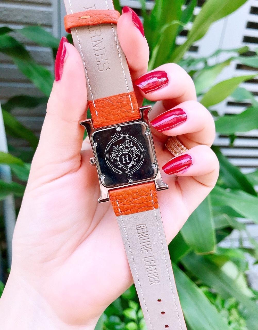 Đồng hồ thời trang Hermes - Dây Cam
