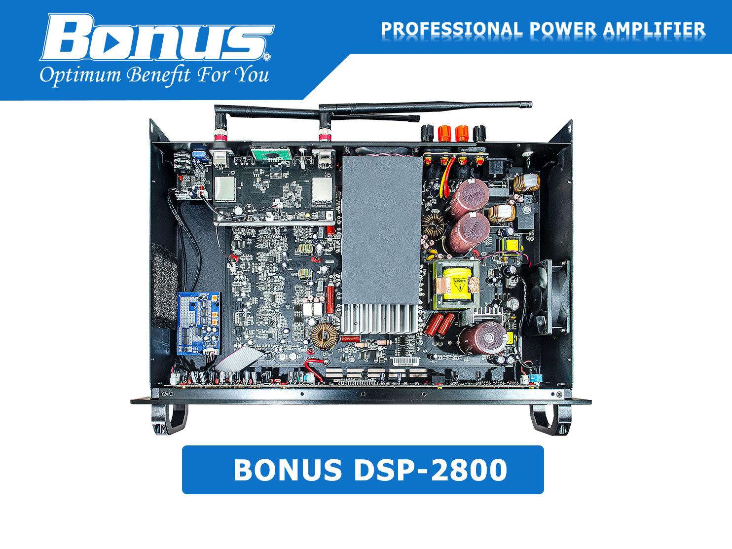 Amply digital karaoke Bonus Audio DSP-2800