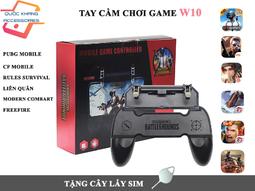 Tay cầm chơi game W10 - chuyên PUBG, Liên quân