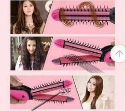 Máy làm tóc 3in1 màu hồng_Tuyetroimuahe