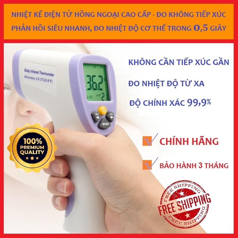 Nhiệt kế hồng ngoại điện tử đo thân nhiệt cao cấp (UC-97A5-10)