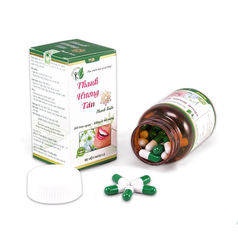 Thanh Hương Tán - Hỗ trợ điều trị hôi miệng do trào ngược dạ dày