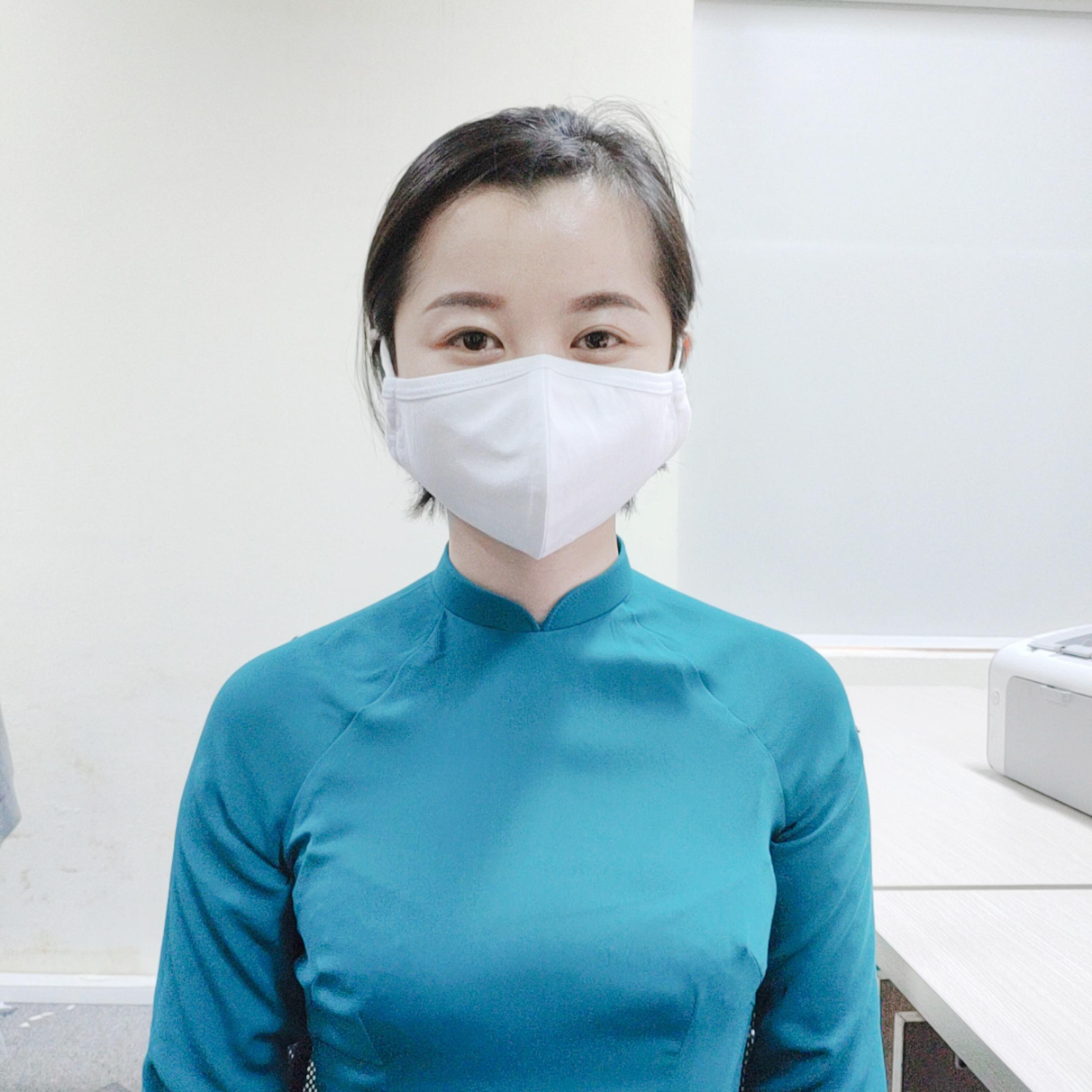 Khẩu trang vải kháng khuẩn 2 lớp paltex - combo 10 chiếc