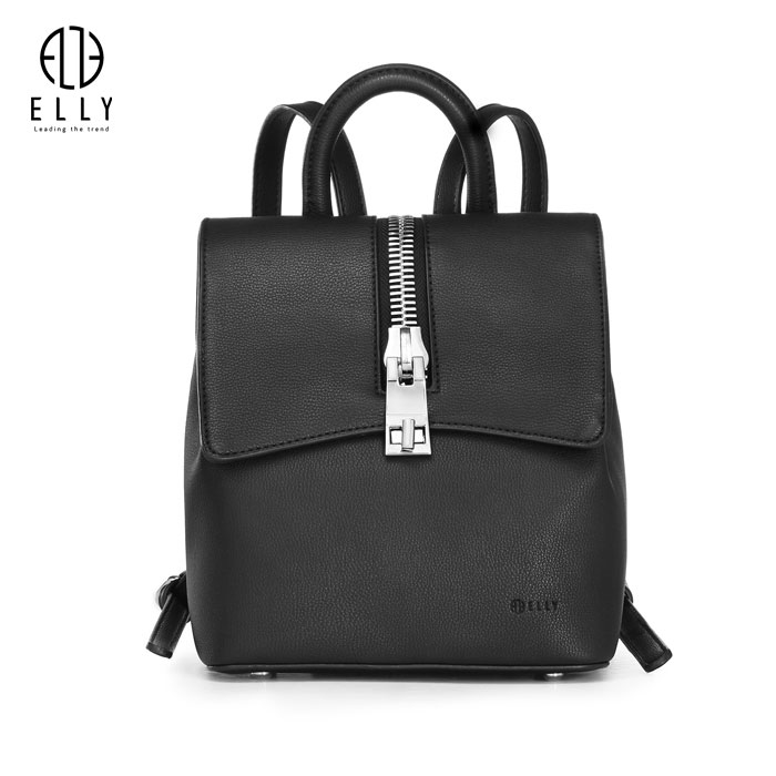 Ba lô nữ thời trang cao cấp ELLY- EBH23 đen