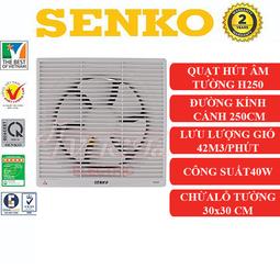 Quạt hút thông gió 2 chiều gắn tường Senko H250