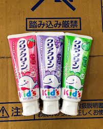 Kem đánh răng trẻ em Kao Kids nội địa Nhật