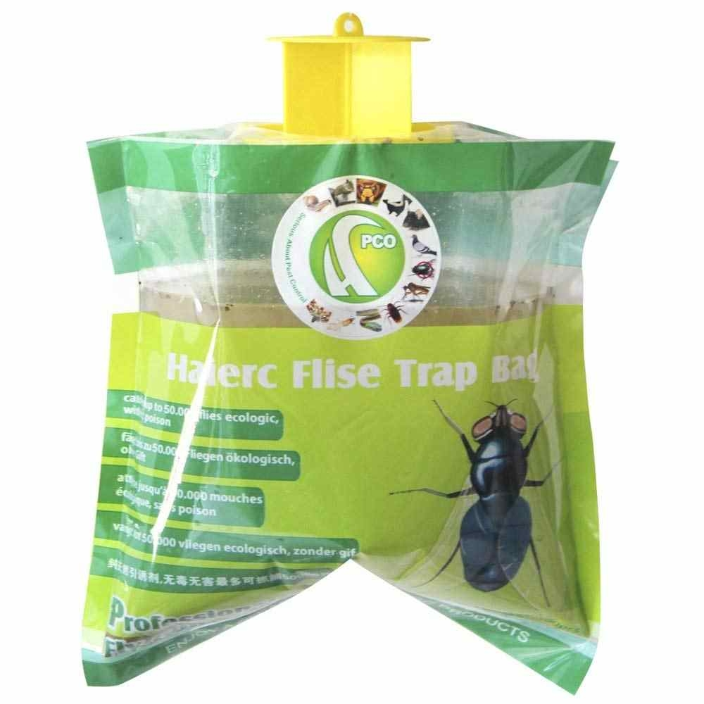 Túi Bẫy ruồi Haierc Flies - CHUYÊN DIỆT RUỒI XANH CHUẨN PCO