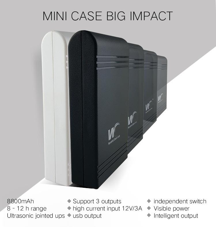 Nguồn dự phòng UPS mini 3in1 5V/9V/12V 1A - P250168   Sàn
