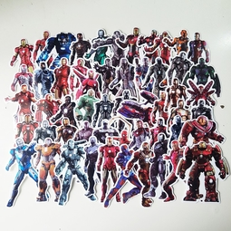 Bộ 54 miếng Sticker hình dán Iron Man