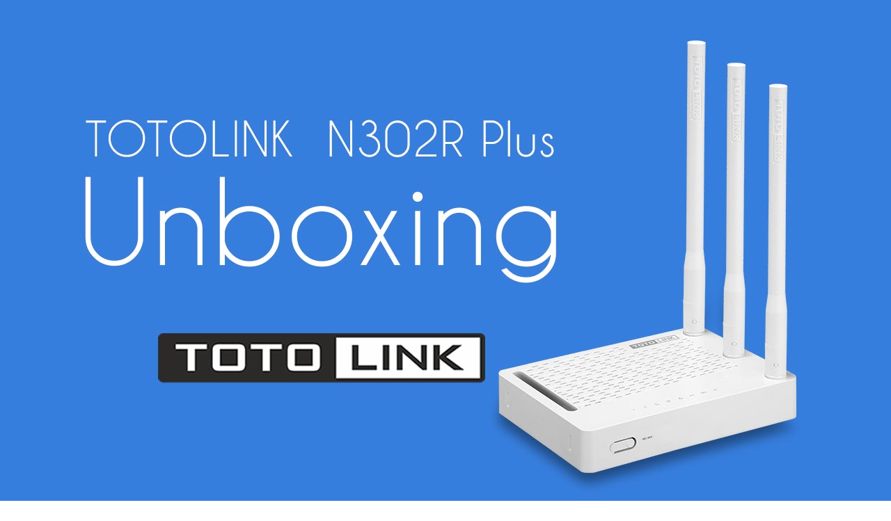 Wireless Router N TOTOLINK N302R Plus 300Mbps có chức năng repeater