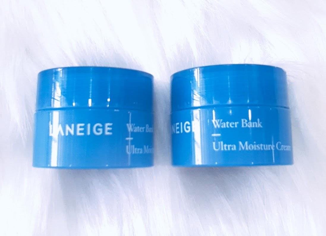 Kem Dưỡng Ẩm LANEIGE Water Bank Ultra Moisture Cream Cung Cấp Độ Ẩm Cho Cả Da Khô & Da Nhạy Cảm 10ml
