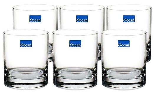 Bộ Cốc thủy tinh Ocean (Bộ 6 chiếc)