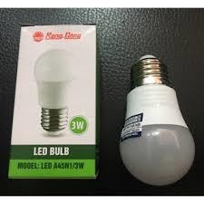 Đèn LED Bulb 3W Rạng Đông (Ánh sáng Vàng/trắng)