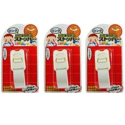 Combo 3 khóa ngăn kéo, tủ lạnh trẻ em (mẫu mới) - Nội địa Nhật Bản