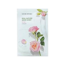 Mặt Nạ Giấy Dưỡng Da Tự Nhiên Chiết Xuất Hoa Hồng Nature Republic Real Nature Rose Mask Sheet (23ml)