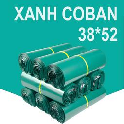 BÁN CHẠY -COMBO 10 Túi niêm phong có keo dính sẵn coban 38x52