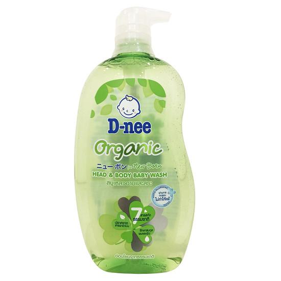 Sữa tắm gội toàn thân cho bé Dnee Organic 380ml xuất xứ Thái Lan