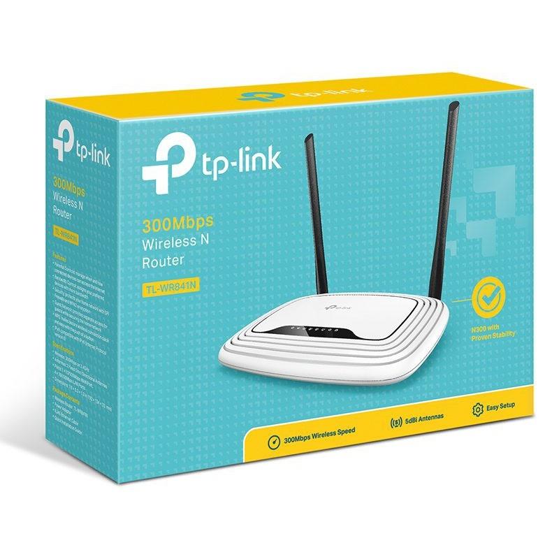 Bộ phát wifi TPLINK WR 841N Chính Hãng Phân Phối