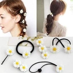 kẹp tóc hoa cúc
