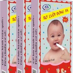 Tưa lưỡi Đông Fa 3 con nai cho bé hộp 50 cái