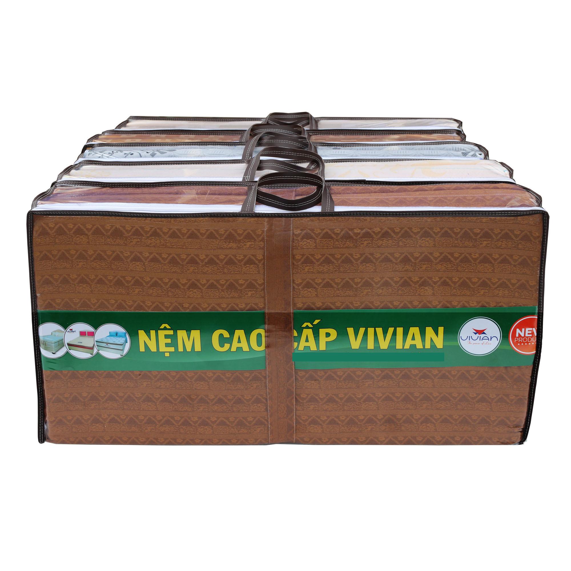 Nệm Xếp VIVIAN Gấp 5 Đa Năng (60cm x 200cm x 3cm) - Tối đa hóa sự tiện dụng đến người dùng Việt