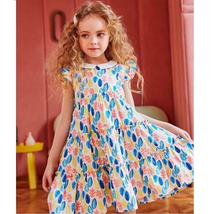Váy thời trang trẻ em Anni kids V20062 size từ 7-12 tuổi