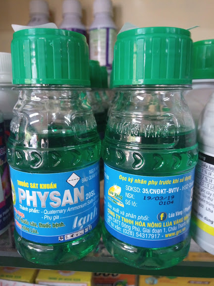 Thuốc sát khuẩn Physan Lạnh 20SL -100ml
