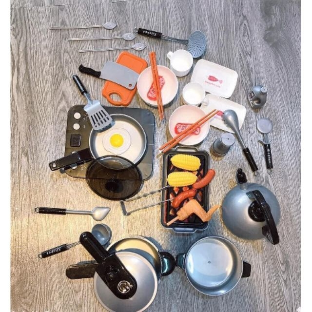 bộ đồ chơi nấu ăn nhà bếp 36 món cho bé - P361426 | Sàn thương mại điện tử  của khách hàng Viettelpost
