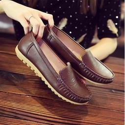 Giày lười nữ, Giày mọi nữ da bò, giày lười nữ cao cấp, giày lười nữ đế cao, chất liệu da mềm mại, size từ 35-40 (sp46)