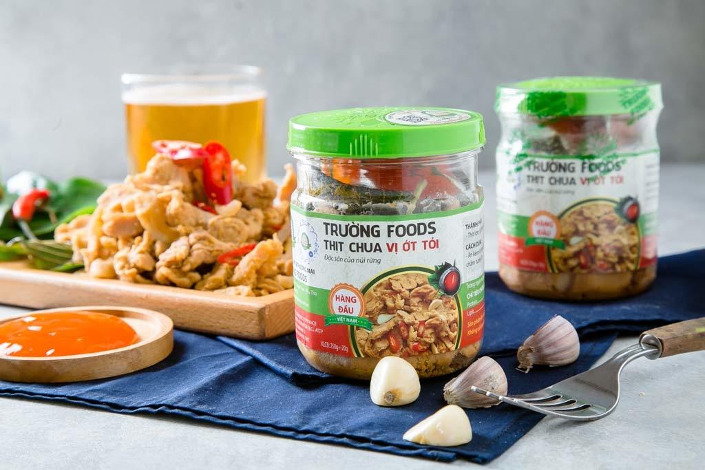 [Phú Thọ] Thịt Chua Thanh Sơn Trường Foods - ( Combo 5 hộp )