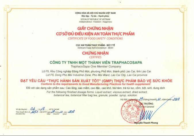 OCOP.4.LCI. Trà Phun Sương Dạng Gói Actiso SaPa