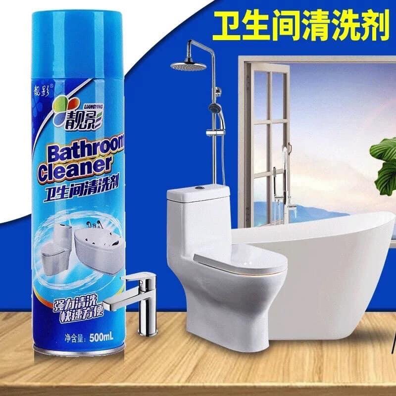 Kết quả hình ảnh cho Chai xịt vệ sinh nhà tắm Bathroom cleaner