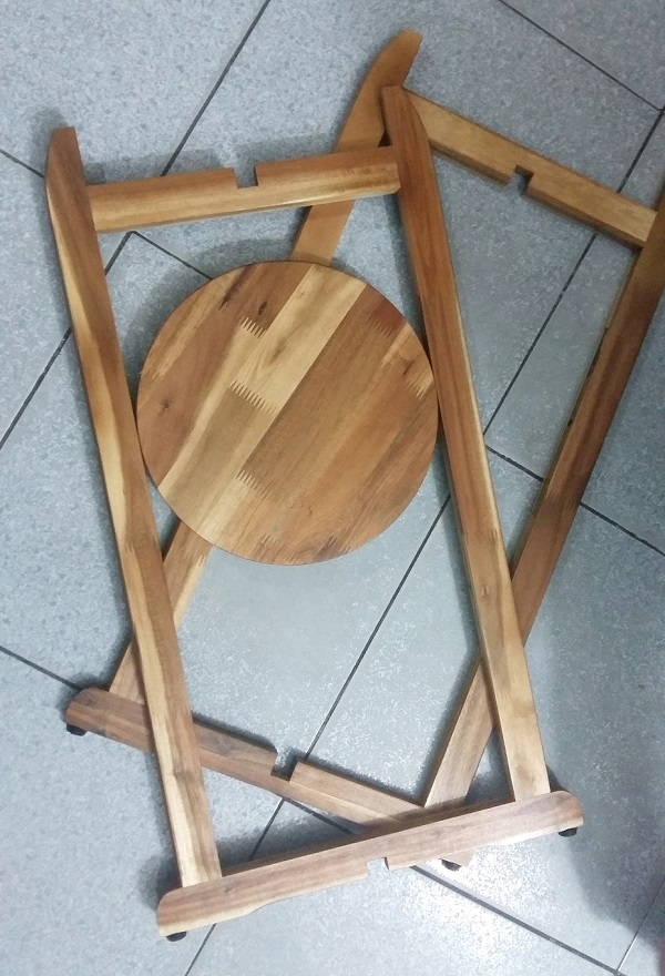 Kệ để bình nước bằng gỗ tự nhiên , tháo rời