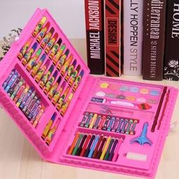 Bộ Bút Màu 86 món cho bé tập vẽ