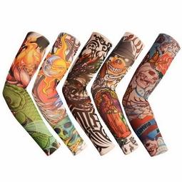 COMBO 3 đôi găng tay chống nắng hình xăm