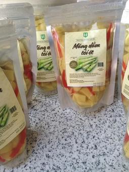 Măng Dầm Tỏi Ớt 500 gram