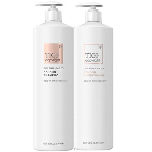 Dầu Gội Xả duy trì độ ẩm cho tóc Tigi Copyright 970ml