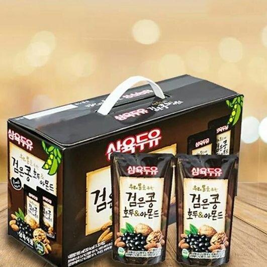 Thùng 20 Bịch Sữa Óc Chó Hạnh Nhân Hàn Quốc 195ml