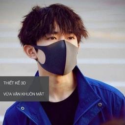 Khẩu trang đen pitta mask