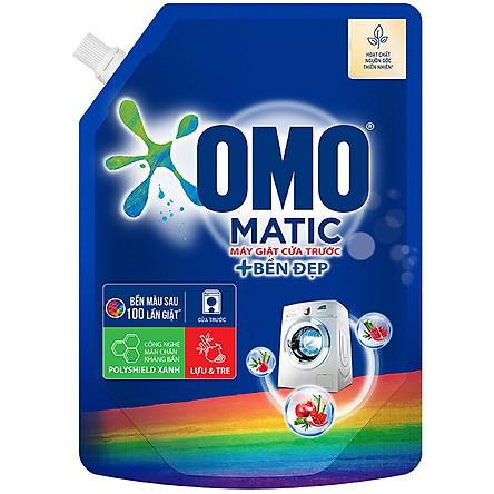 Combo 2 túi - Nước giặt Omo Matic bền đẹp cửa trước 2kg